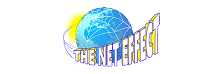 The first Net Effect logo... created by David Charlesworth